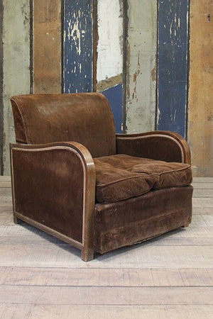 Oversized armchair