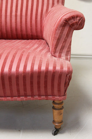 Square back armchair (Reserved)