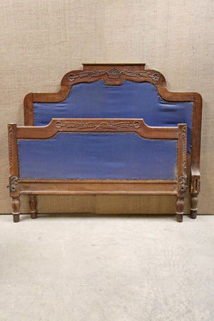 Country style 19th century double bed