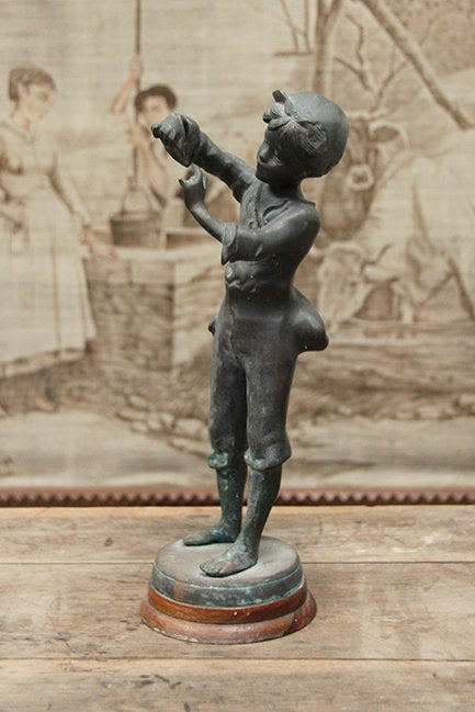 Little boy figurine