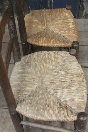 Pair of country chairs