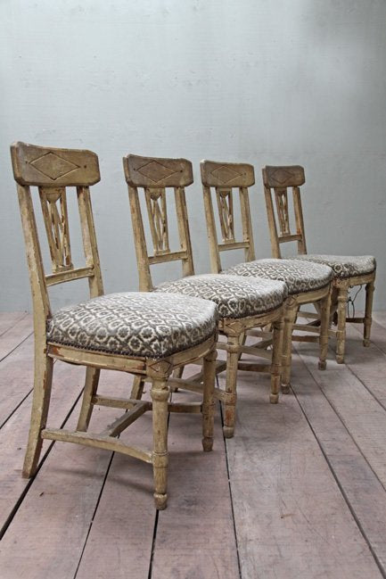 Directoire style chairs