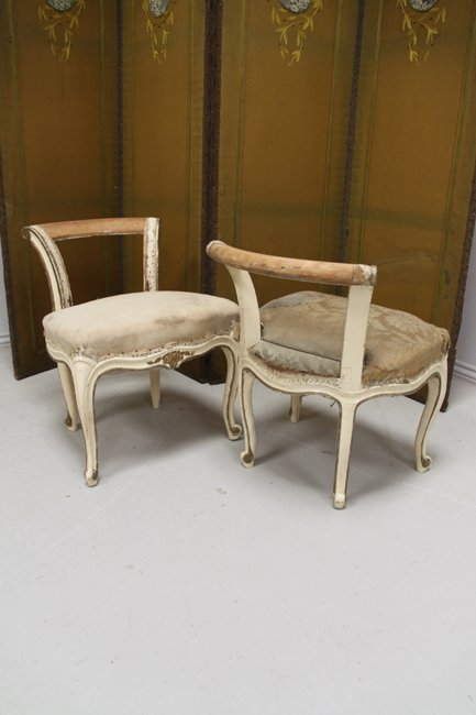 Pair of boudoir stools (Reserved)