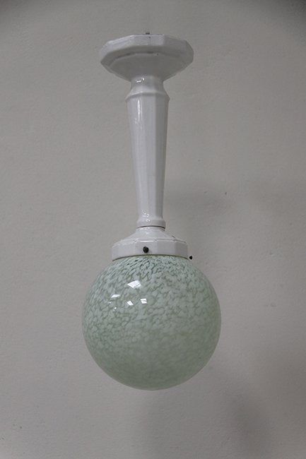 Porcelain ceiling light