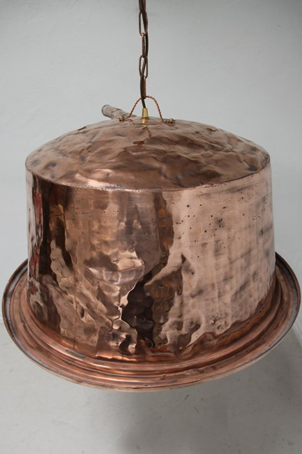 Very large copper light