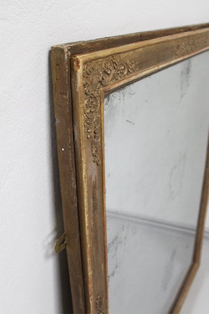Large Empire mirror