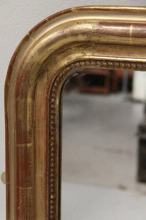 Mid 1800's gilt mirror