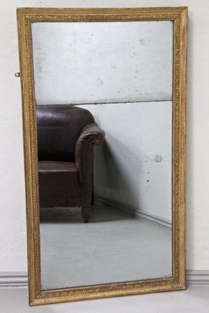 Gilt split plate mirror
