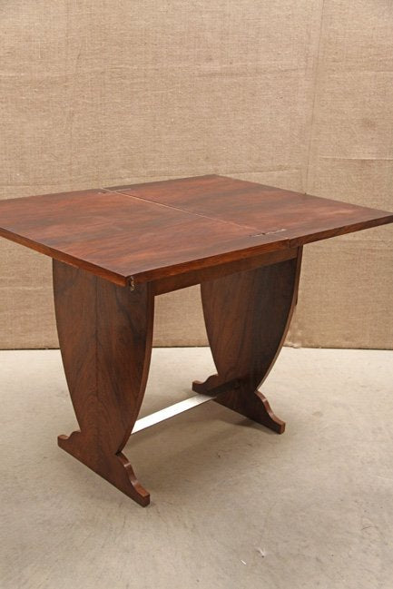 Art Deco card table