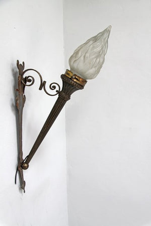 Bronze torch light