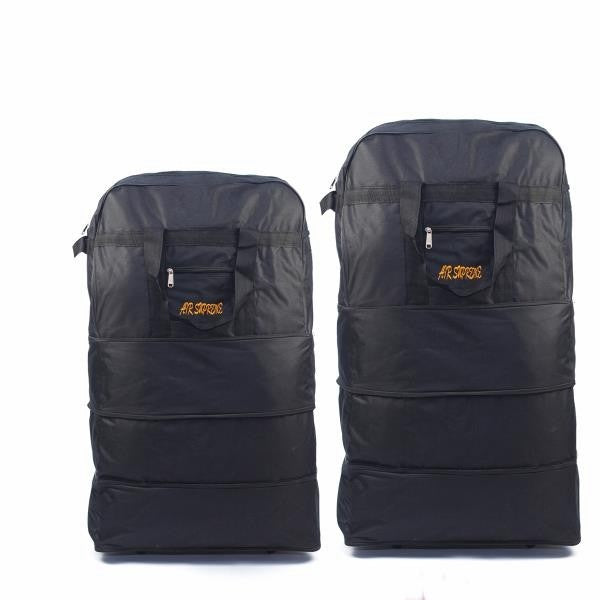 D-178 Foldable Zipper Bag With Wheels