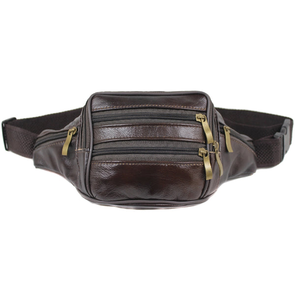 D-075 Leather Bum Bag