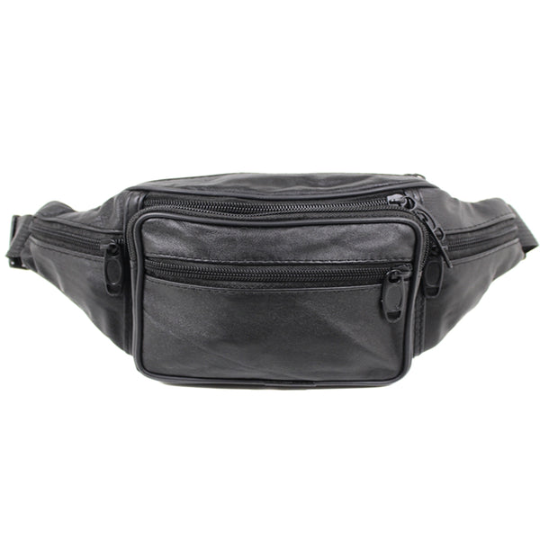 D-004 Soft Leather Bum Bag
