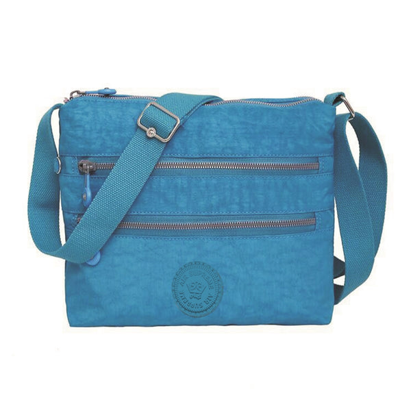 D-098 Muti Compartments  Cross Body Travel Bag