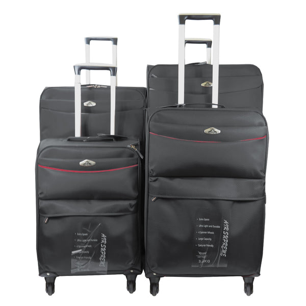 BB04 Set of 4 Flight Wheel Travel Luggage
