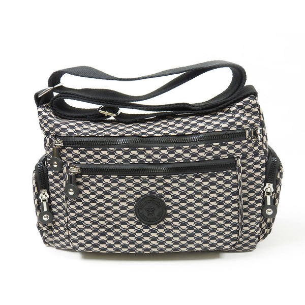 D-225 Multi Pocket Cross Body Bag