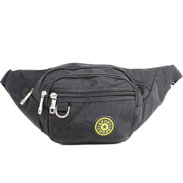 D-121 Multiple Zip Bum Bag