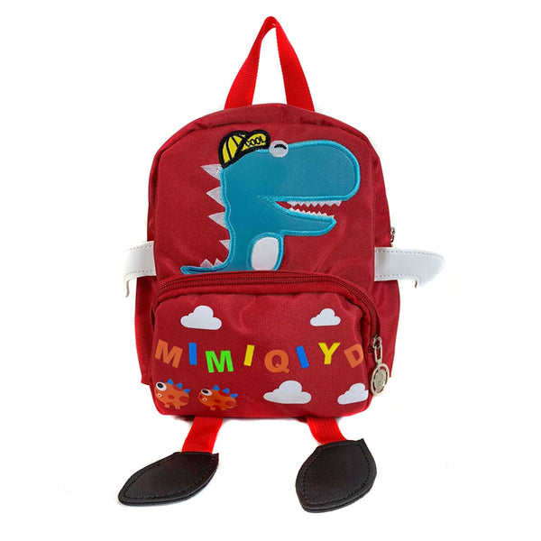 D-293 Cute Dinasaur Kids Backpack with Carry Handle