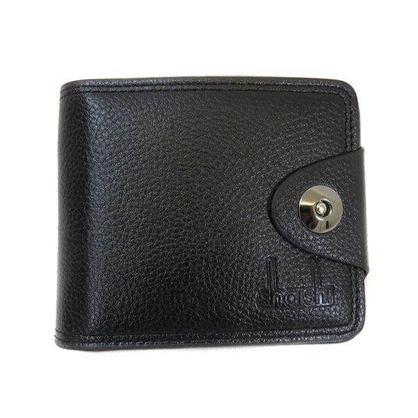 3880 Mens Designer Button Closure Wallet