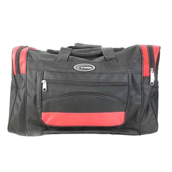 D-025-15inch Contrast Color Holdall Travel Bag