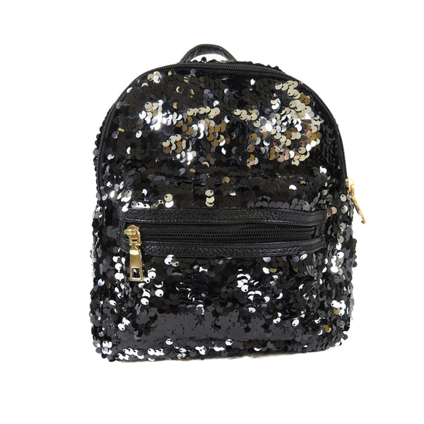D-238 Shiny Sequins Color Small Backpack