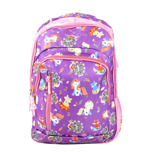 D-271 Unicorn Multi Pockets Travel School Backpack
