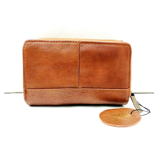 FHM-27 Soft Leather Wallet Coin Purse