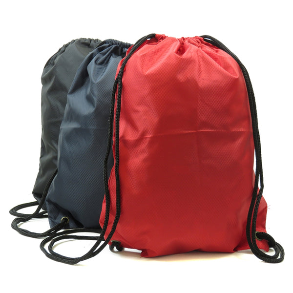 D-206 Water resistant Drawstring Backpack