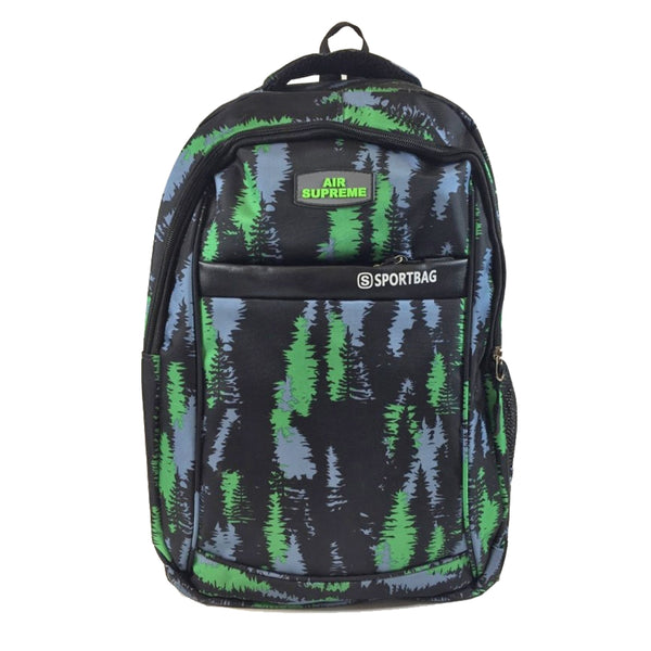 D-242 Multi Zip Designer Travel Backpack
