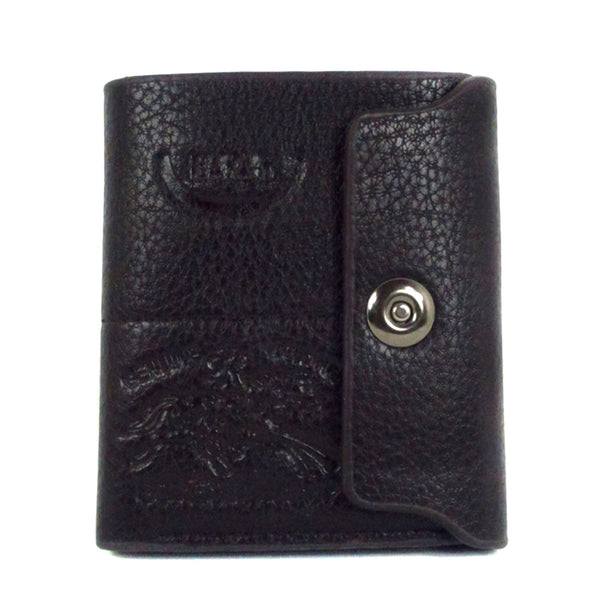 BL420-2 Mens Long Wallet with Button