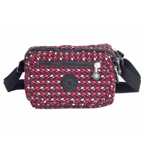 D-218 Multiple Patrern Small Cross Over Bag