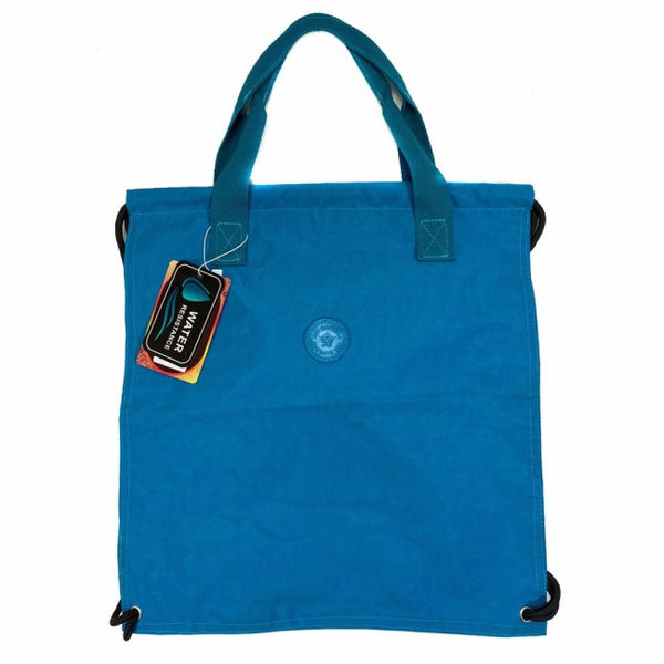 D276  2 in 1 String Strap Backpack and Shopper Bag