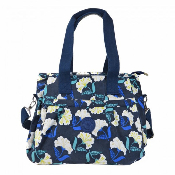 D-153 Large Size Pattern Shoulder Bag