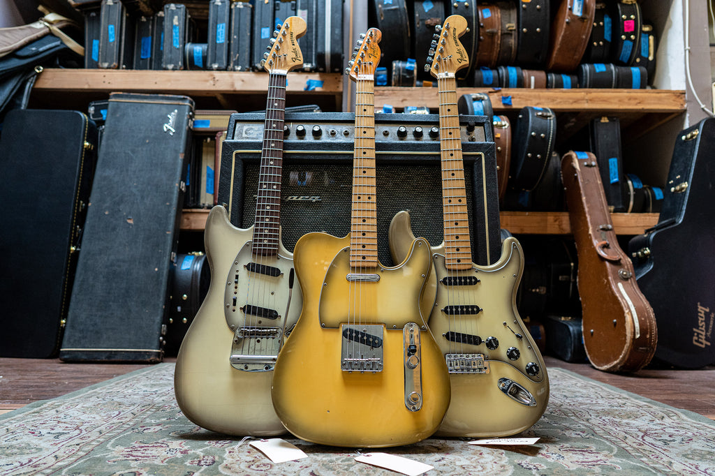 Imperial Vintage Guitars Los Angeles Fender Telecasters Stratocasters Mustangs