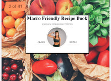 Load image into Gallery viewer, Jordan's Macro Friendly Recipe Book