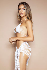 The Crochet Set Bikini & Sarong - PRE-ORDER