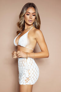 The Keele Crochet Set White - PRE-ORDER