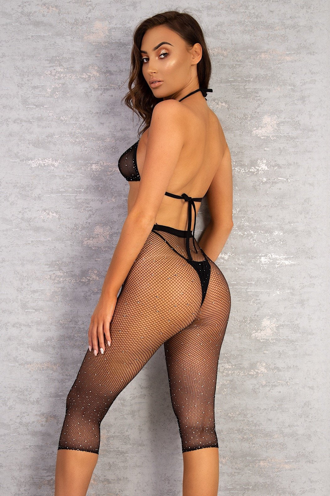 The Jena Fishnet Two Piece  - View for more colours