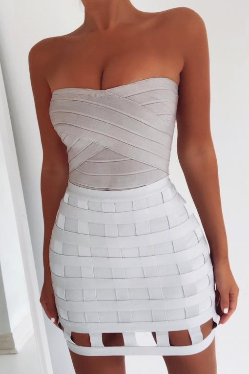 The Bandeau Bandage Top - View for more colours