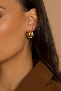 The Gold Stud Earrings