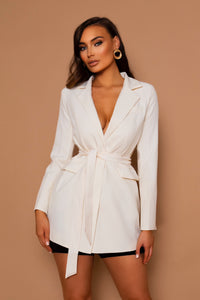 The Elva Cream Blazer
