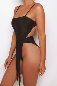 The High Rise Tie Swimsuit - View for more colours