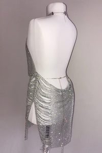 The Dripping In Diamonds Diamanté Dress - View for more colours - PRE-ORDER