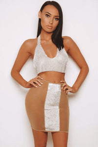 The Gliss Diamante Skirt