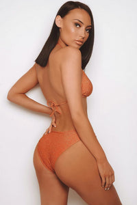 The Glitter Sparkle Bikini Orange