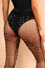 Load image into Gallery viewer, The Mesh Beaded Pants - View for more colours
