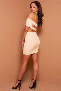 The Nude Cut Out Two Piece