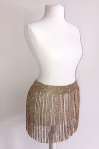 The Shimmer Diamante Skirt - View for more colours - PRE-ORDER
