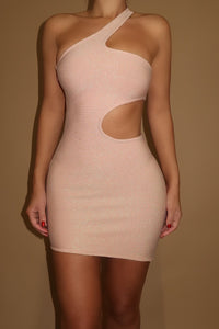 The Zavia Bandage Glitter Dress - Reversible