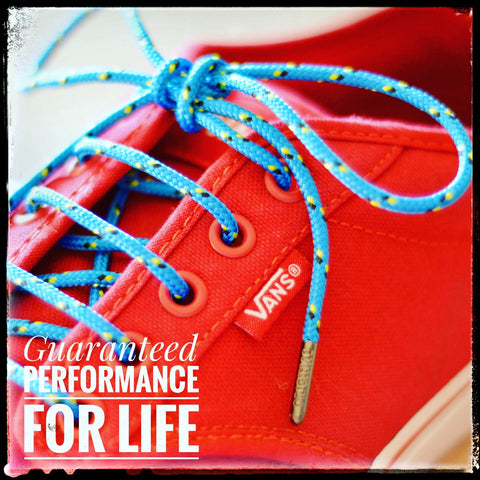 4. Performance Laces Guaranteed4Life